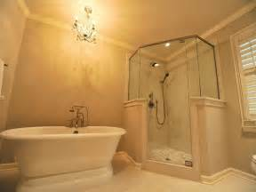 Shower To Bath Bathroom Glass Master Bath Showers Ideas Master Bath