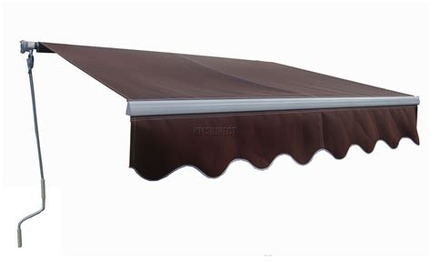 manual awnings outdoor manual aluminium retractable awning canopy garden