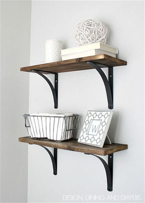 Rustic Bathroom Shelves Rustic Diy Bathroom Shelving