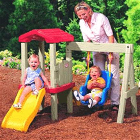 little tikes climber and swing little tikes swingalong climber slides swing review