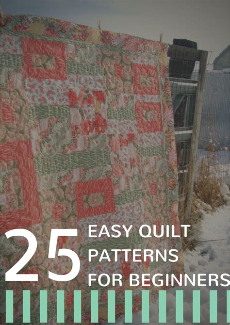 32 easy quilt patterns for beginners allfreesewing