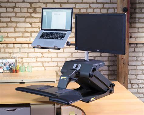 Standing Office Desk by Taskmate Journey Standing Desk Converter Notsitting