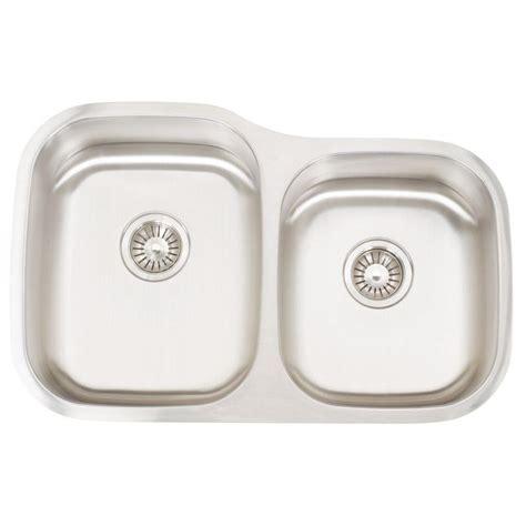 Knop Panci Stainless Mt 31 elkay lustertone undermount stainless steel 31 in bowl kitchen sink eluh311910r the