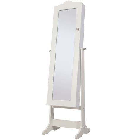 Bedroom Storage Cabinet With Mirror Nishano Jewellery Cabinet Mirror Floor Free Standing