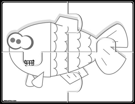 printable jigsaw puzzles for preschoolers free printable animal jigsaw puzzles prekautism com