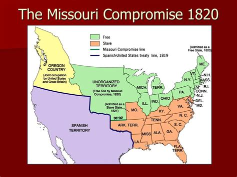 missouri compromise sectionalism the era of good feelings ppt download