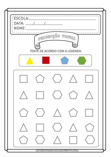 figuras geometricas atividades educação infantil 25 melhores ideias sobre atividades com formas