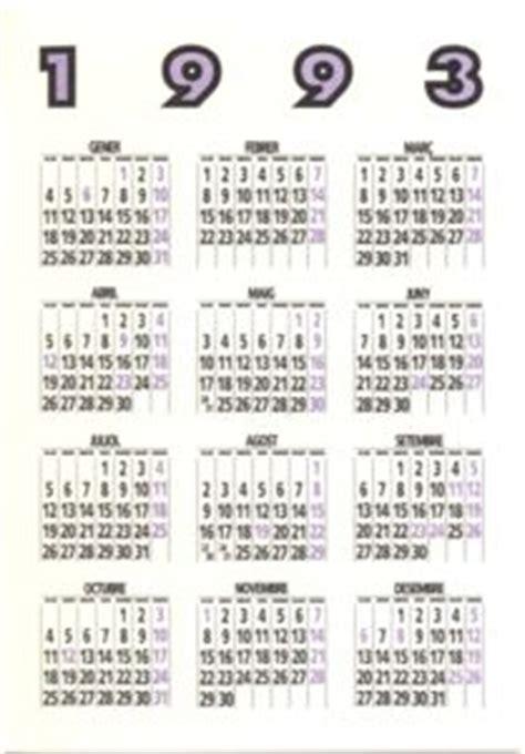 Calendario De 1993 Calendario De Bolsillo Amics De La Colla Jove Espa 241 A