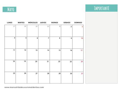 Calendario Mayo 2015 Calendario Mayo 2015 Calendarios Mensuales 2015 Para