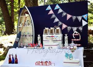 nautical themed ideas sailboats ahoy it s a nautical b lovely events