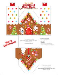 We love to illustrate free gingerbread house download