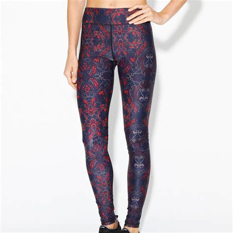 bright patterned leggings bright tights to buy now popsugar fitness australia
