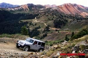 Colorado Jeep Trails Road Travel Silverton Colorado Road