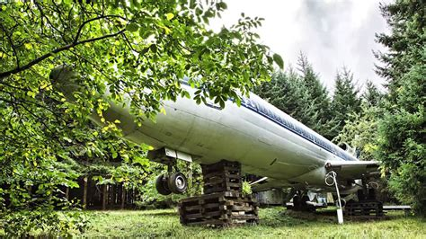 retired boeing  converted   home   woods