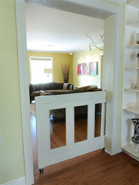 alternative to pocket door alternative to baby gates diy home for dogs pocket doors and pets