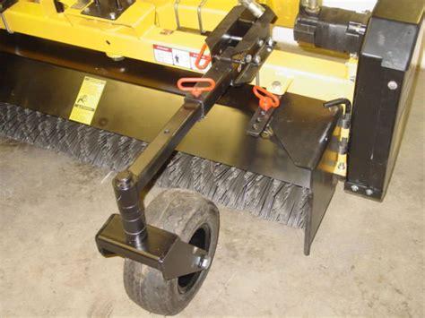 Landscape Rake Gage Wheels Nortec Products Rb400 Rotary Broom Rbk Rotary Broom Kit
