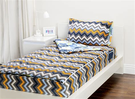 zipper bed zipit bedding set zip up your sheets and comforter like