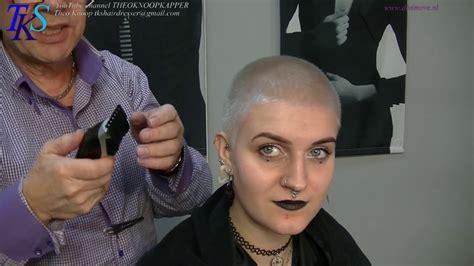 clipper cut platinum w ultra ultra feminine clipper cut in platinum color