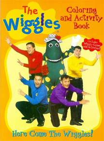 here come the wiggles coloring book wikiwiggles