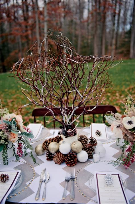 diy winter wedding centerpieces washington dc wedding winter wedding details