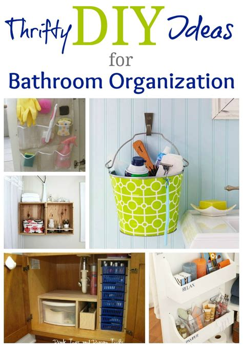 real bathroom organization ideas