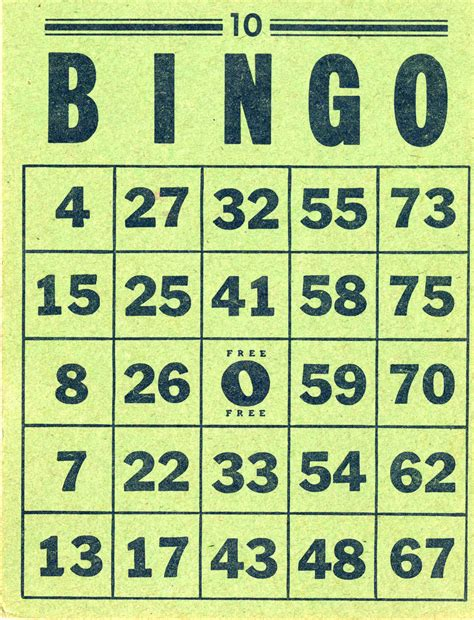bingo the printable bingo cards