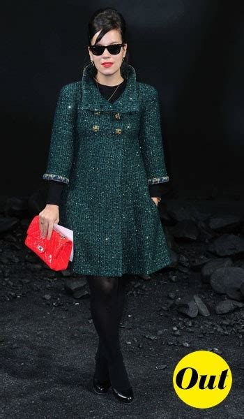 Lilly Allen For Chanel 2 by Fashion Week Automne Hiver 2011 2012 Les Looks In