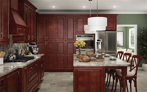 Princeton Kitchen Cabinet Princeton Cabernet All Wood Cabinets