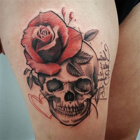 womens skull tattoos designs images for tatouage