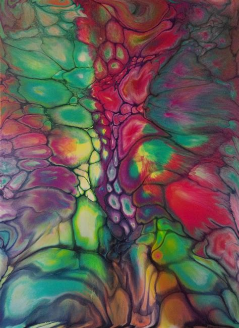 acrylic painting pour acrylic pouring paintings acrylics