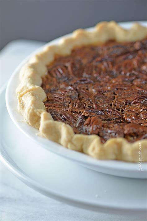 the best pecan pie recipe add a pinch