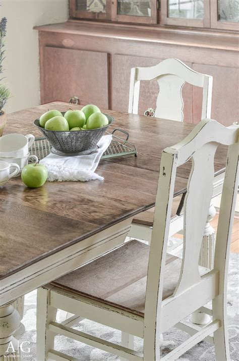 chalk paint kitchen table diy kitchen table and chairs diy fresh grant antique