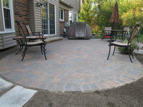 Patio Concrete Pavers Brick Pavers Canton Plymouth Northville Arbor Patio Patios Repair Sealing
