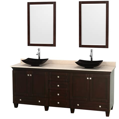 80 Bathroom Vanity wyndham collection wcv800080desivgs4m24 acclaim 80 inch
