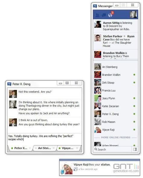 trasforma facebook in windows 7 facebook messenger windows 7