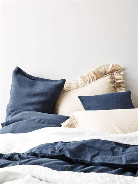 navy and cream bedding 137 best images about spaz master on pinterest linen duvet master bedrooms and