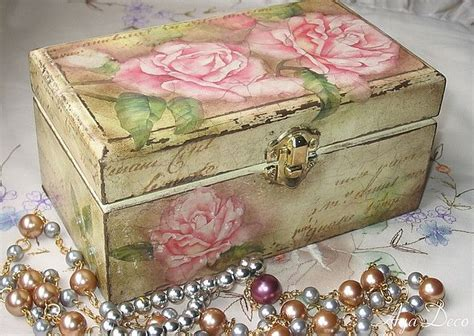 Decoupage Box - decoupage box roses quot craft idea quot