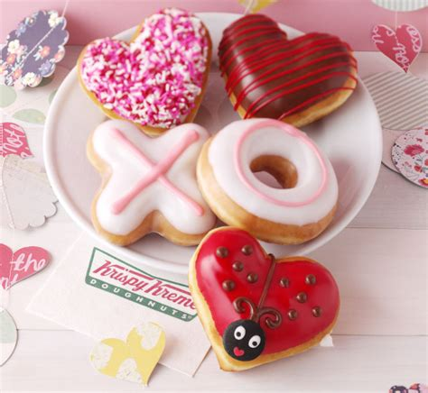 Happy Hearts From Krispy Kreme by Krispy Kreme S 2015 S Day Donuts Include New