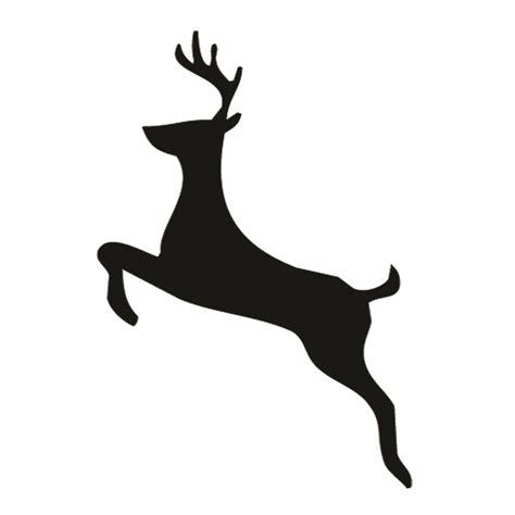 printable reindeer silhouette reindeer silhouette stencil 02 free stencil gallery
