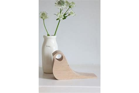 Handmade Door Stop - handmade door stop wood novelty bird shaped door wedge