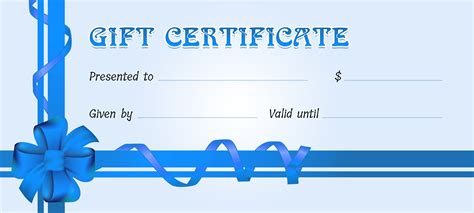microsoft gift certificate template business gift certificates for all events professional