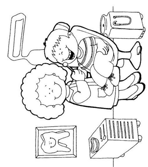 teeth coloring pages preschool free coloring pages of at the dentist