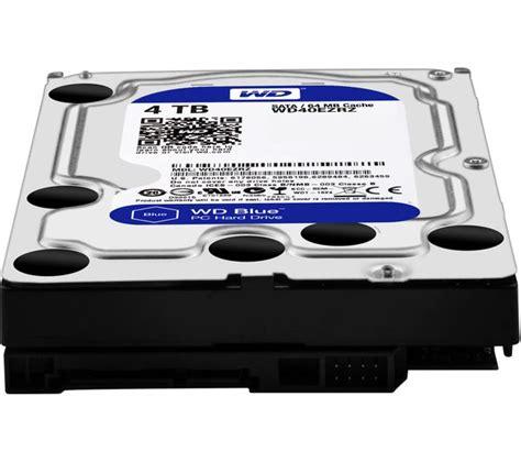 Wd Blue Harddisk 3 5 4tb wd blue 3 5 quot drive 4 tb deals pc world
