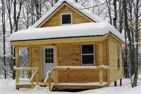 Small House Kits New York Small Cabin Plans Deer S Lodge New York