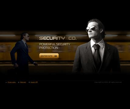 security company template security company flash website template best website