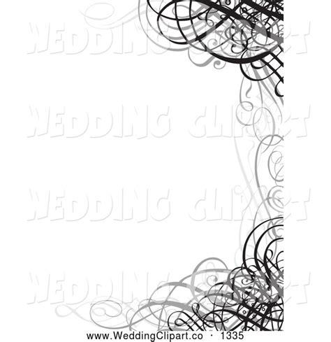 Wedding Invitation Border Graphics by Wedding Invitation Clip Borders 101 Clip