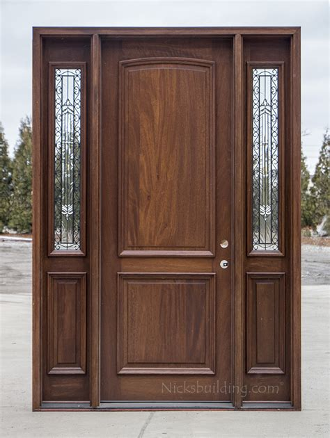 Exterior Wood Door Stain 2 Panel Exterior Wood Doors Cl 2121c