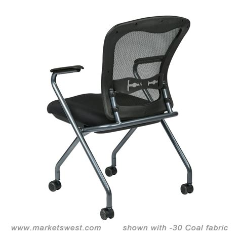 custom fabric folding chairs deluxe folding chair with progrid back arms and titanium