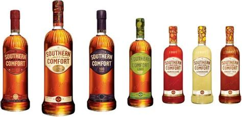 what flavor is southern comfort before after southern comfort rebranding the dieline