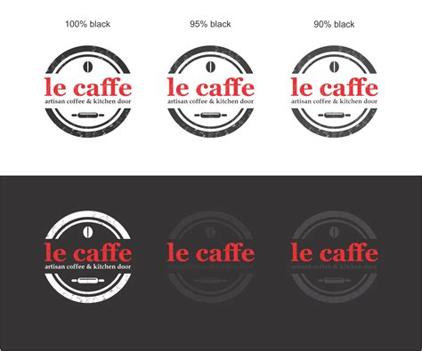 designcrowd pty 104 upmarket elegant cafe logo designs for le caffe a cafe